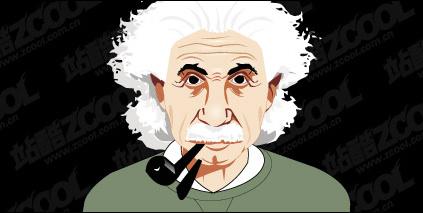 Einstein vector material Free CDR Vectors Art