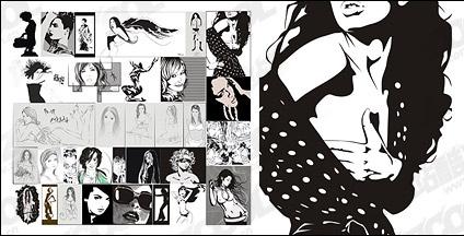 Women Free CDR Vectors Art
