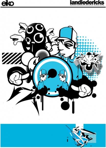 Hello Free CDR Vectors Art