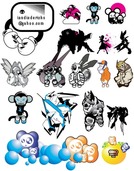 Another pack from eiko Free CDR Vectors Art