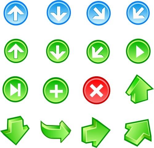 Free Vector Arrow Icons Free CDR Vectors Art