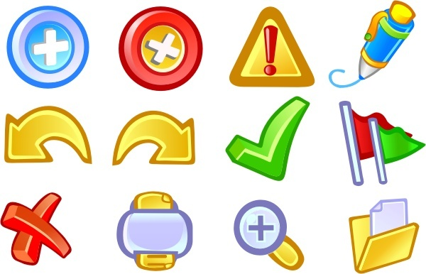 Application Basic Icons Pack Free CDR Vectors Art