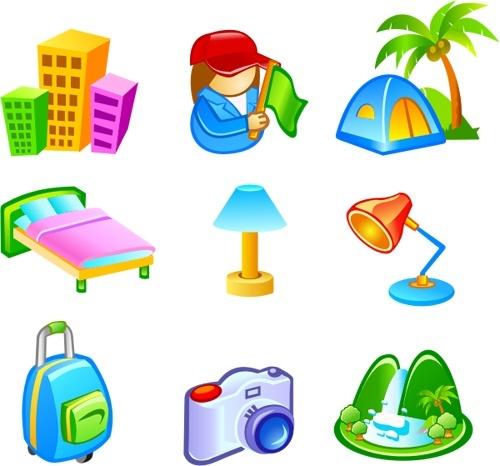 Free Vector Travel Icons Free CDR Vectors Art