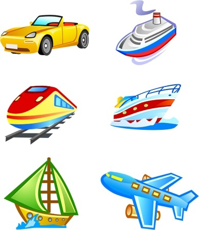 Free Vector Transport Free CDR Vectors Art