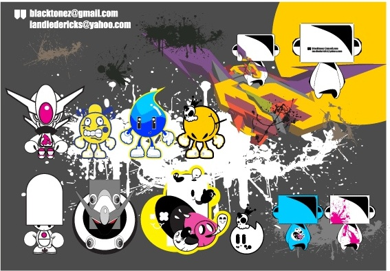Some Characters Free CDR Vectors Art