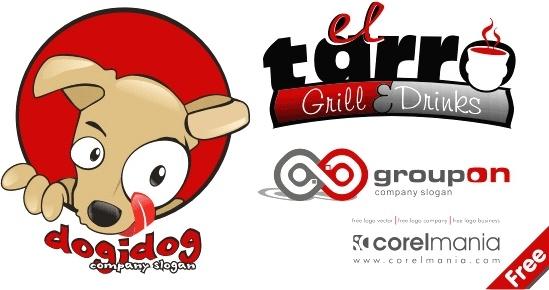Cute Logo Free CDR Vectors Art