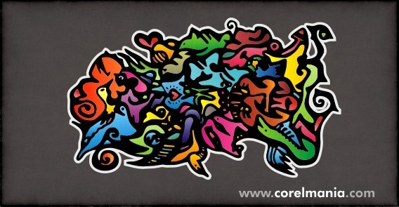 Free CDR Vectors Art