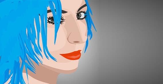 Girls Free CDR Vectors Art