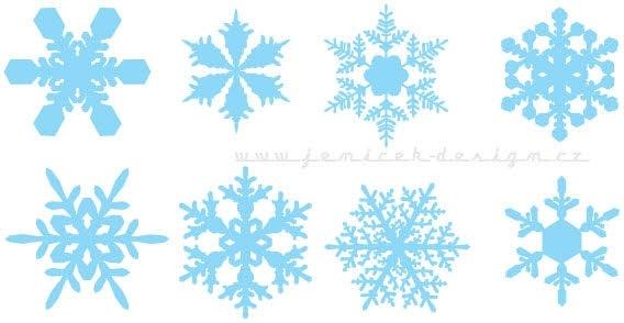 Snowflakes Free CDR Vectors Art