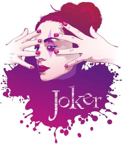 Joker Free CDR Vectors Art