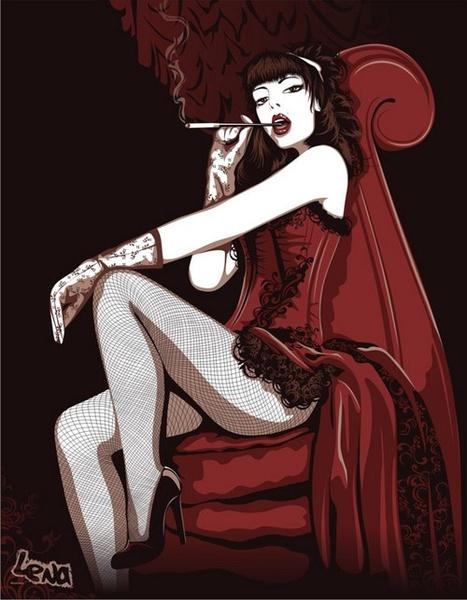 Moulin Rouge Free CDR Vectors Art
