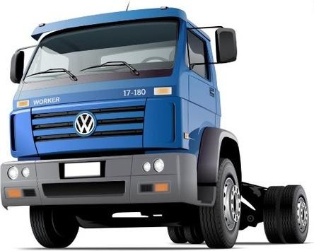 Volkswagen Worker Free CDR Vectors Art
