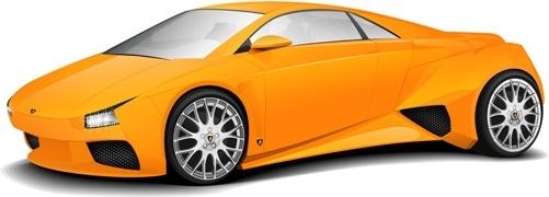 Lamborghini Free CDR Vectors Art