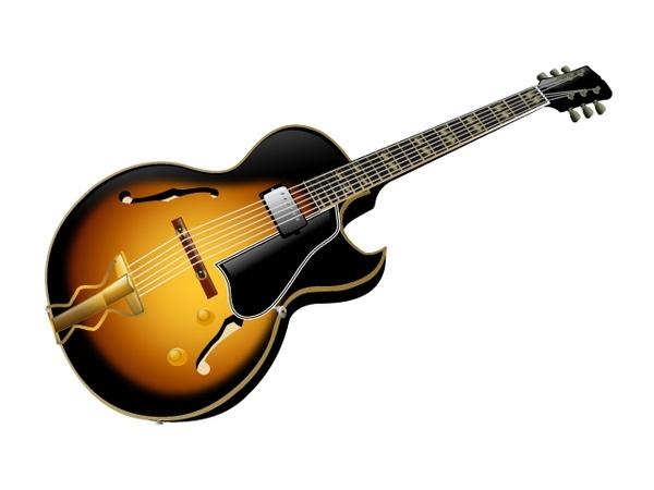 Electric Guitar Free CDR Vectors Art