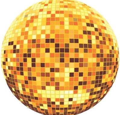 Disco ball Free CDR Vectors Art