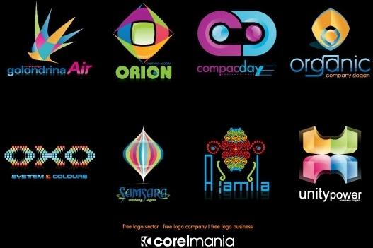 Business logo Free CDR Vectors Art