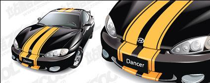HUNDAI tubiron car vector material Free CDR Vectors Art