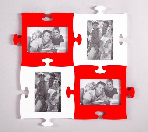 Puzzle Photo Frames Free CDR Vectors Art
