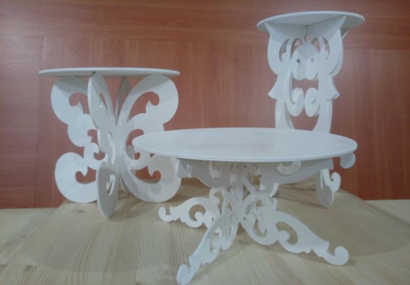 Decorative Tables 3D Puzzle Free CDR Vectors Art
