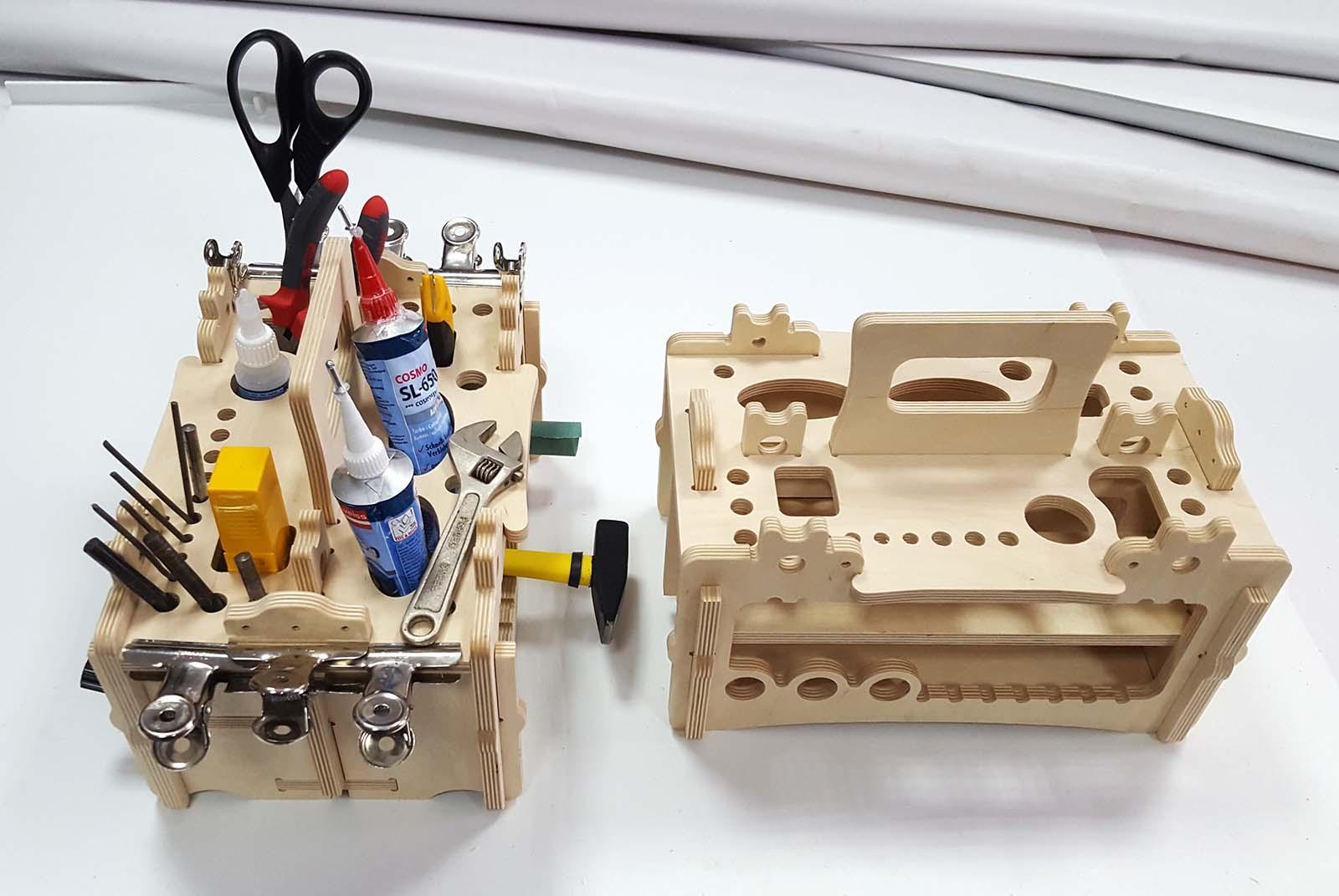 Amazing Tool Organizer Lasercut Free CDR Vectors Art