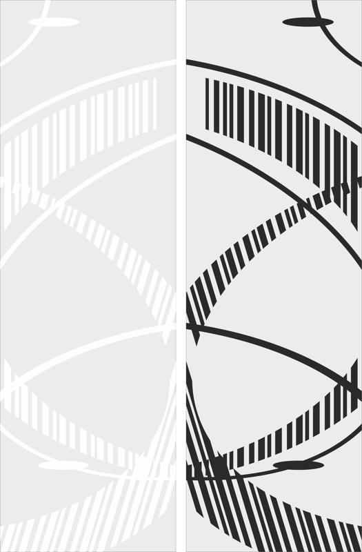 Abstract Spiral Endless Staircase Free CDR Vectors Art