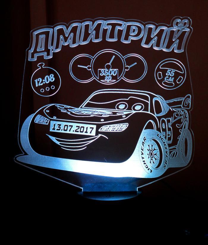 Автомобили 3d ночной свет Free CDR Vectors Art