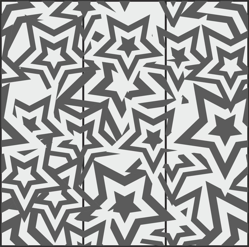 Star Seamless Pattern Free CDR Vectors Art