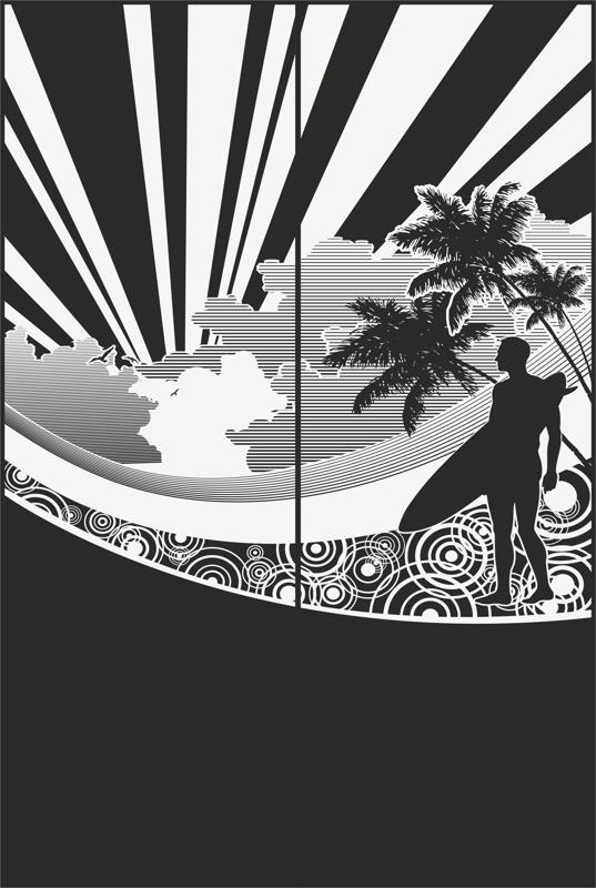 Sandblast Pattern 2182 Free CDR Vectors Art