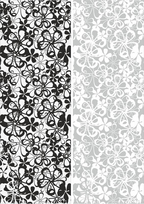 Seamless Flowers Sandblast Pattern Free CDR Vectors Art
