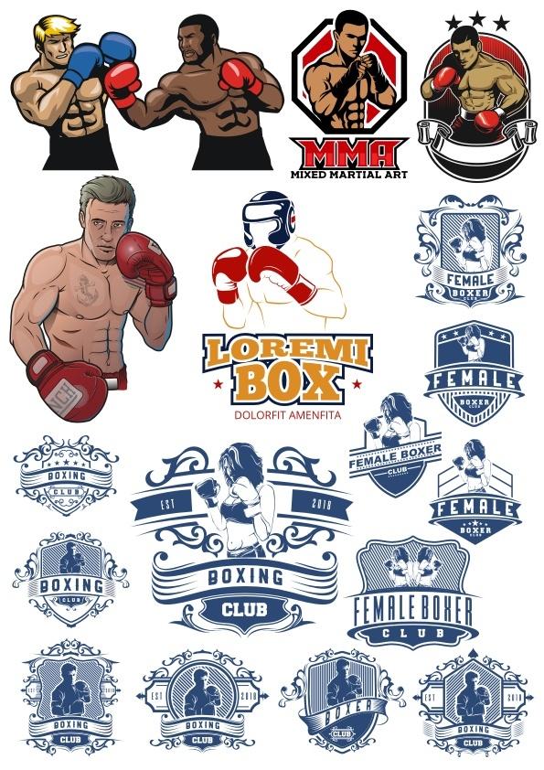 Boxer Vector Illustration Vector HD Free CDR Vectors Art