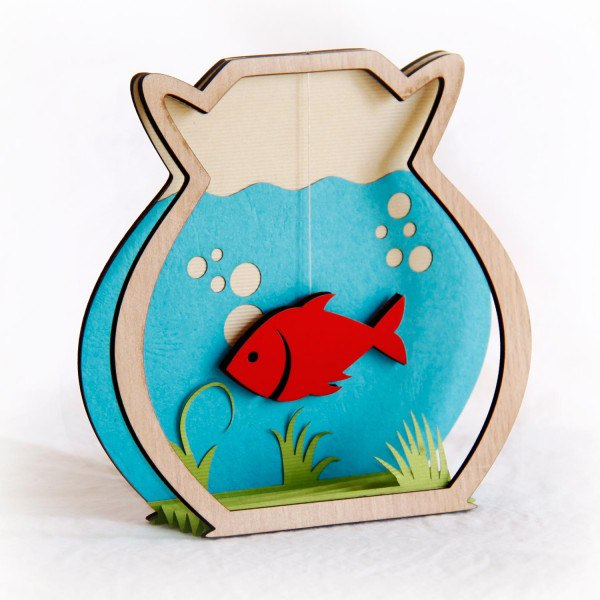 Fish In The Bank Free CDR Vectors Art