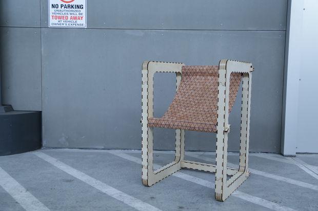 Modern Chair Laser Cut CNC Plan Free CDR Vectors Art