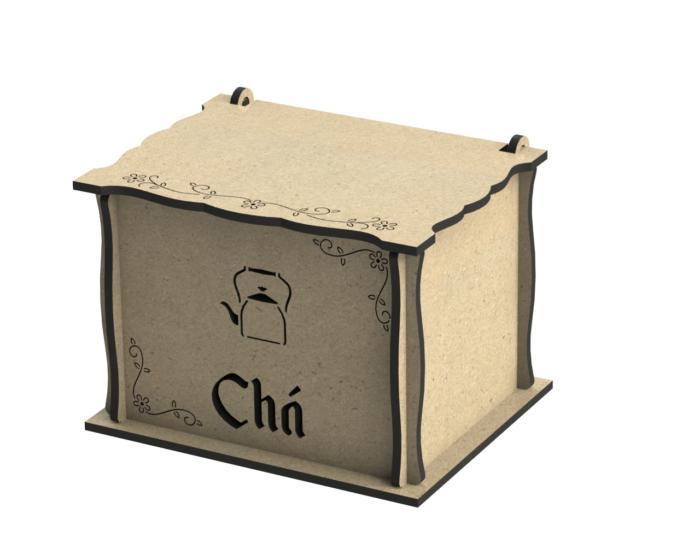 Caixa Para Chas Free CDR Vectors Art