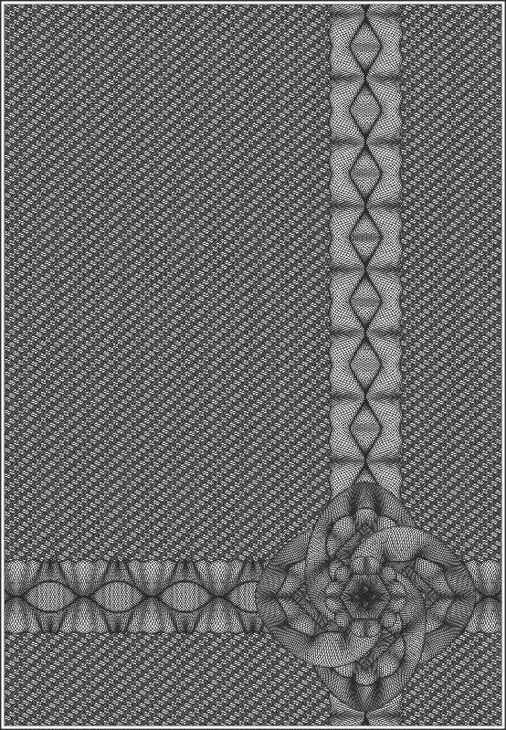 Guilloche vector seamless illustration Free CDR Vectors Art