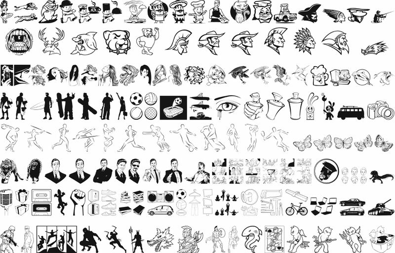 Vector Pack Free CDR Vectors Art