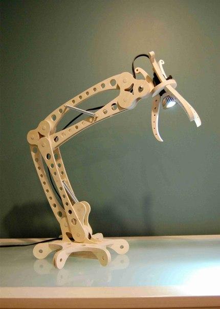 Laser Cut Desk Lamp Free CDR Vectors Art
