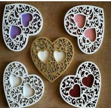Heart Box Free CDR Vectors Art