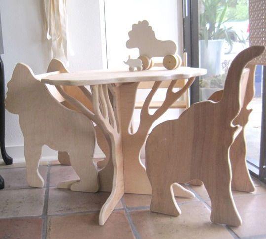 Wooden Animals Plywood Furniture Designs Free CDR Vectors Art