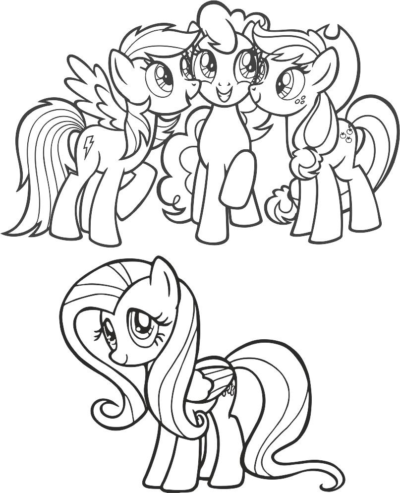 My Little Pony Free CDR Vectors Art