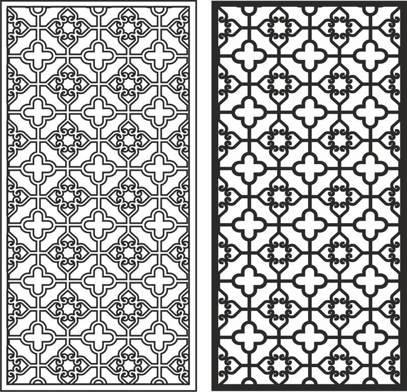 Xinjiang pattern Free CDR Vectors Art
