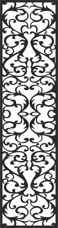 Living room glass paste pattern Free CDR Vectors Art