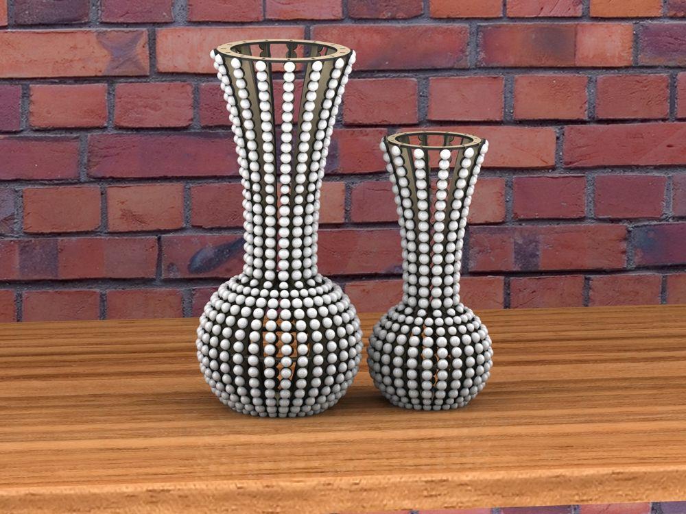 Laser cut Vase Free CDR Vectors Art