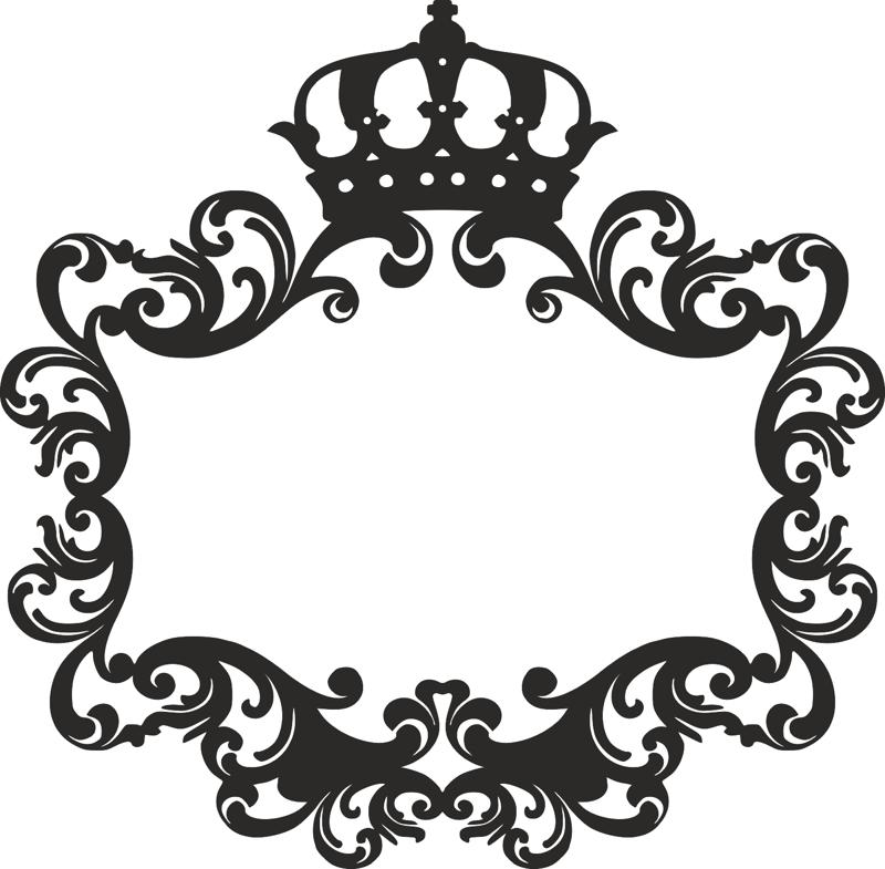 Monogram for the wedding laser cutting Free CDR Vectors Art