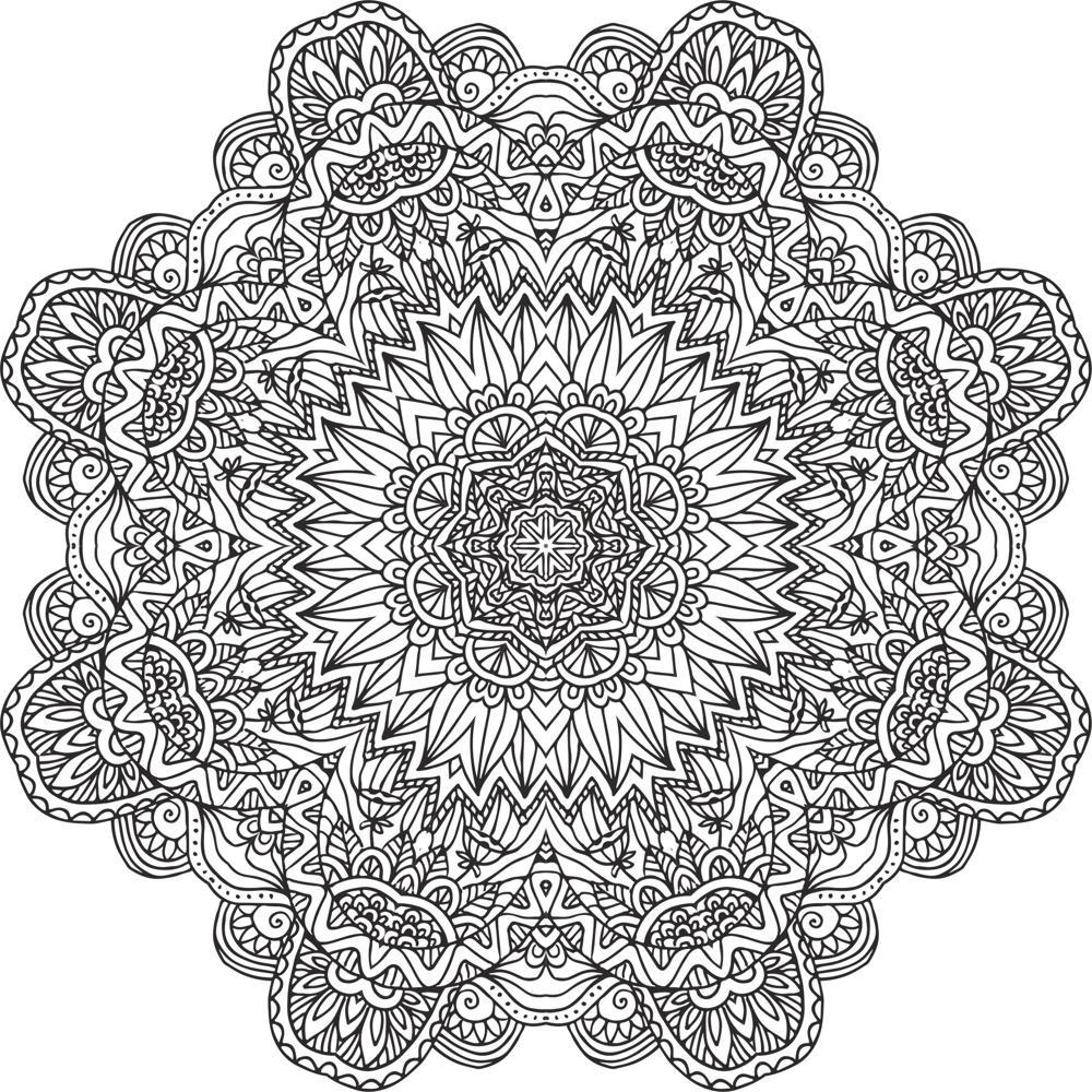 Flowers Setncil Free CDR Vectors Art