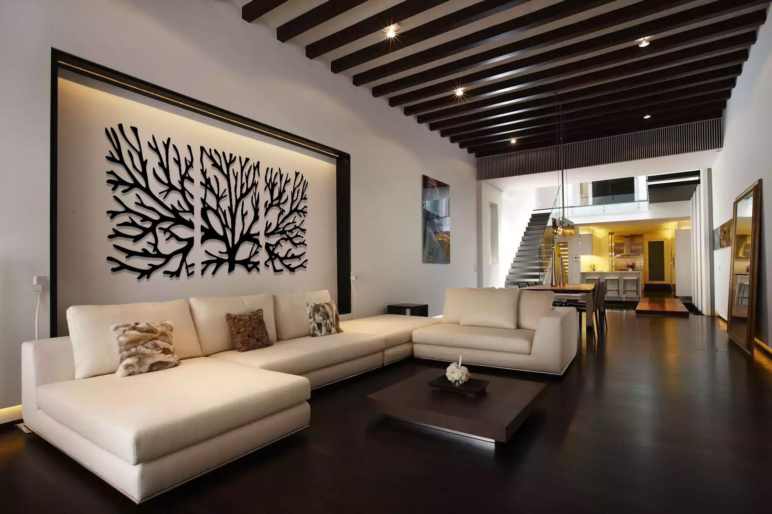 Wall Decoration Laser Cut Free CDR Vectors Art