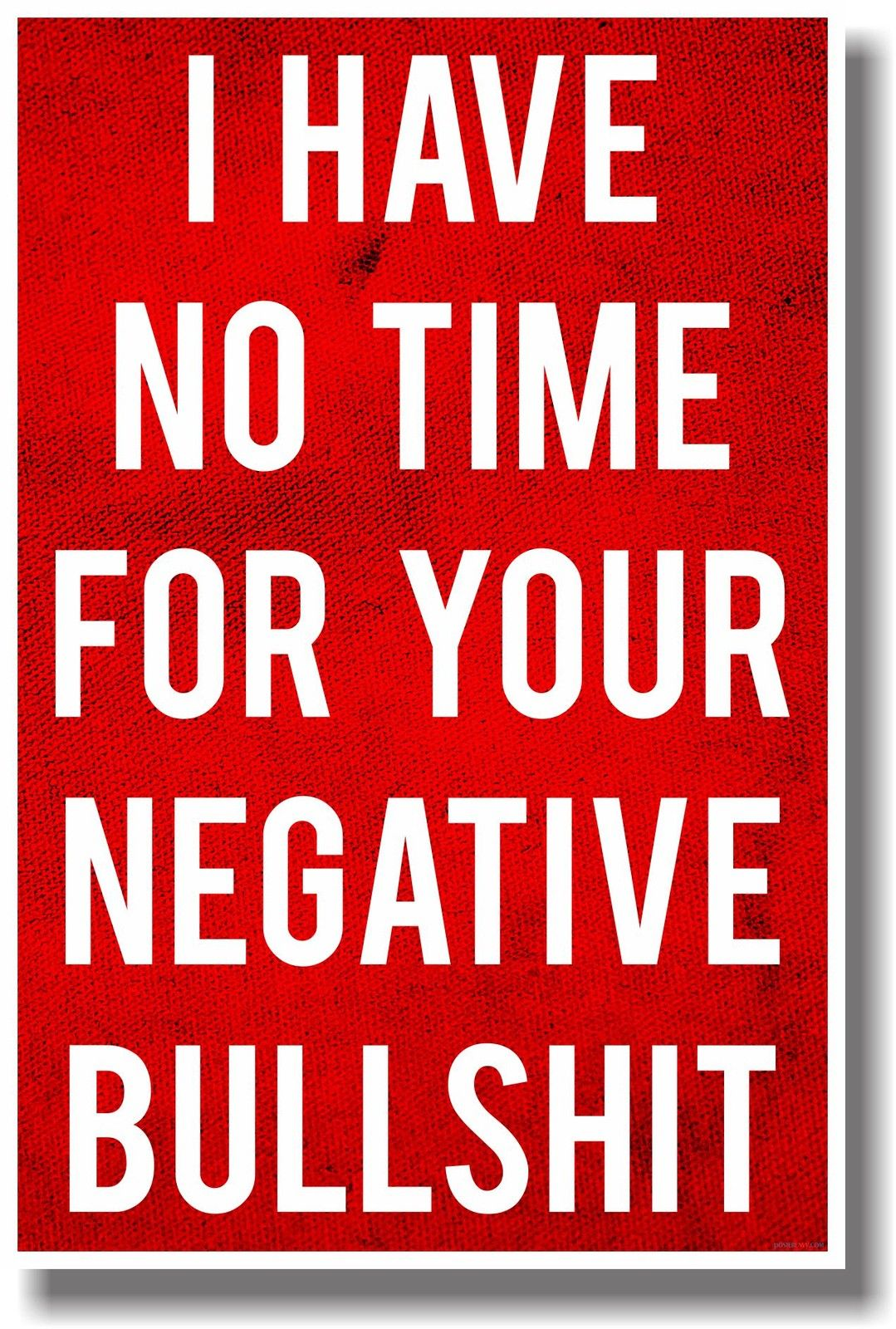 I Have No Time For Your Negative Bullshit Sticker Free CDR Vectors Art