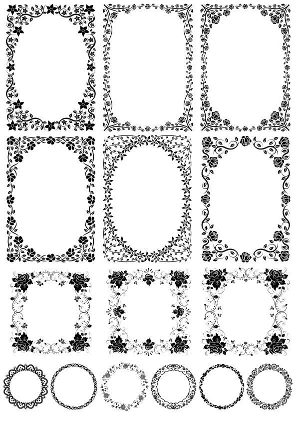 Border Vector download Free CDR Vectors Art