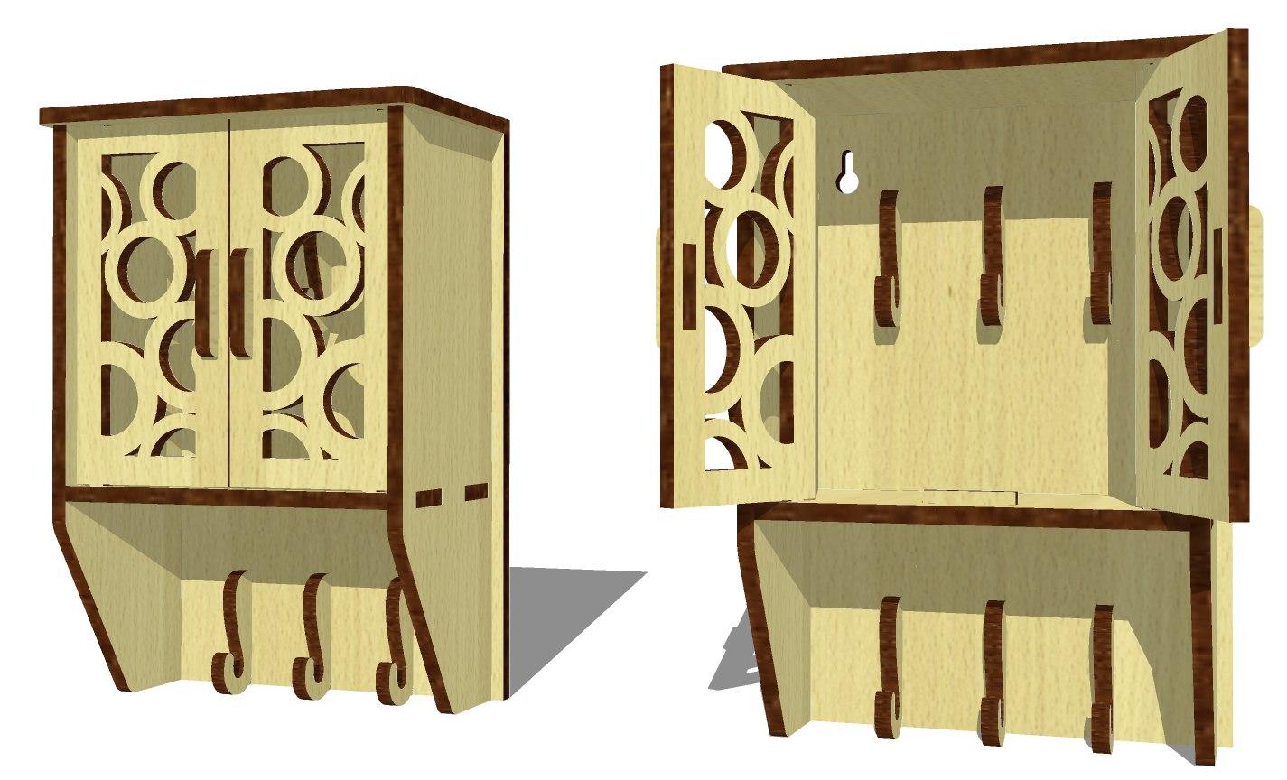 Key Box Free CDR Vectors Art