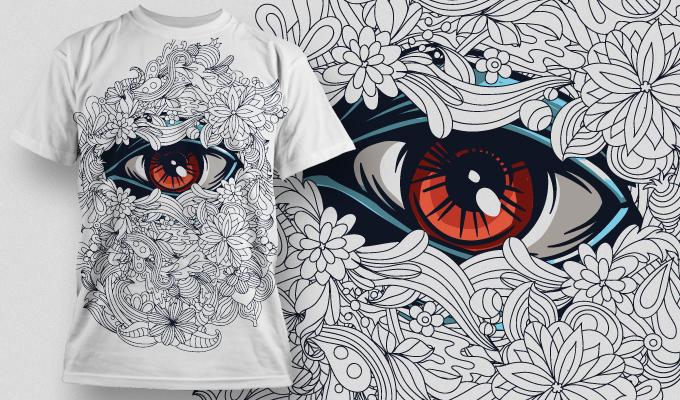 Designious T-shirt Design 539 Free CDR Vectors Art
