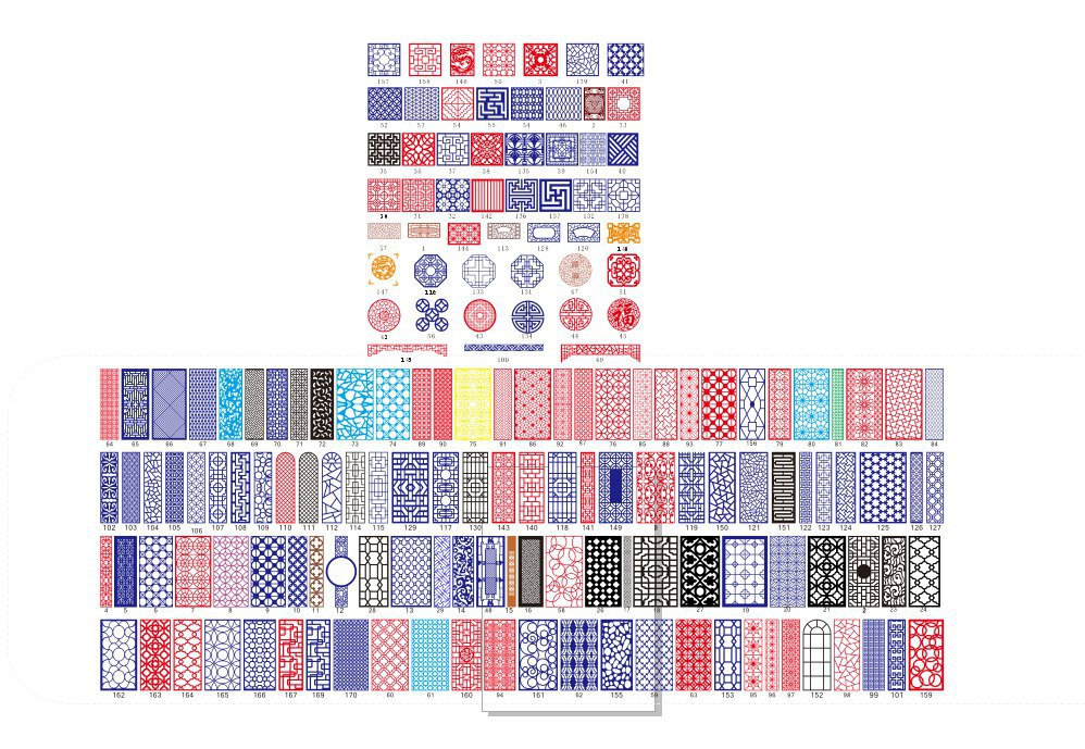 All Kinds Of China Pattern Free CDR Vectors Art